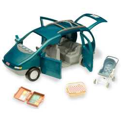 Mini Crib With Changing Table Attached Stingray's Hideaway: Toy Museum: Fisher Price Loving Family Dollhouse ...