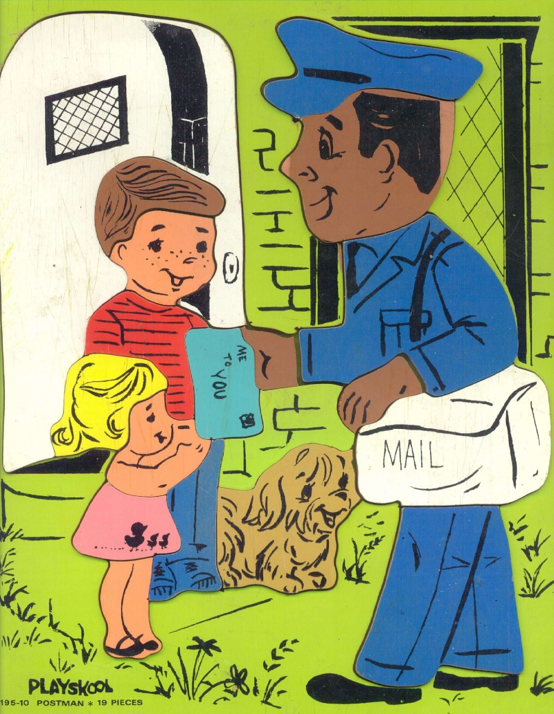 postman essay in hindi